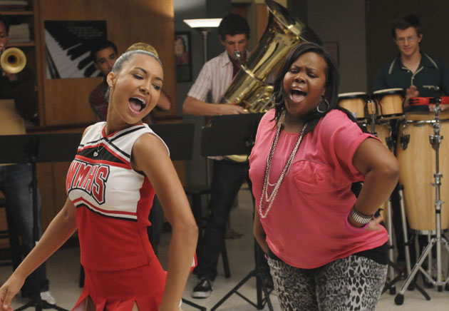 Mercedes Glee Season 2. Mercedes performs a solo in