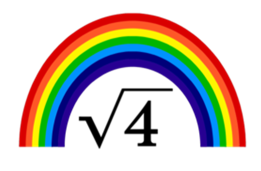 Image Square root of 4=RAINBOWS.png Glee Wiki