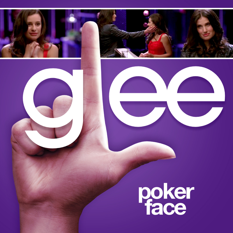 Glee cast poker face free download