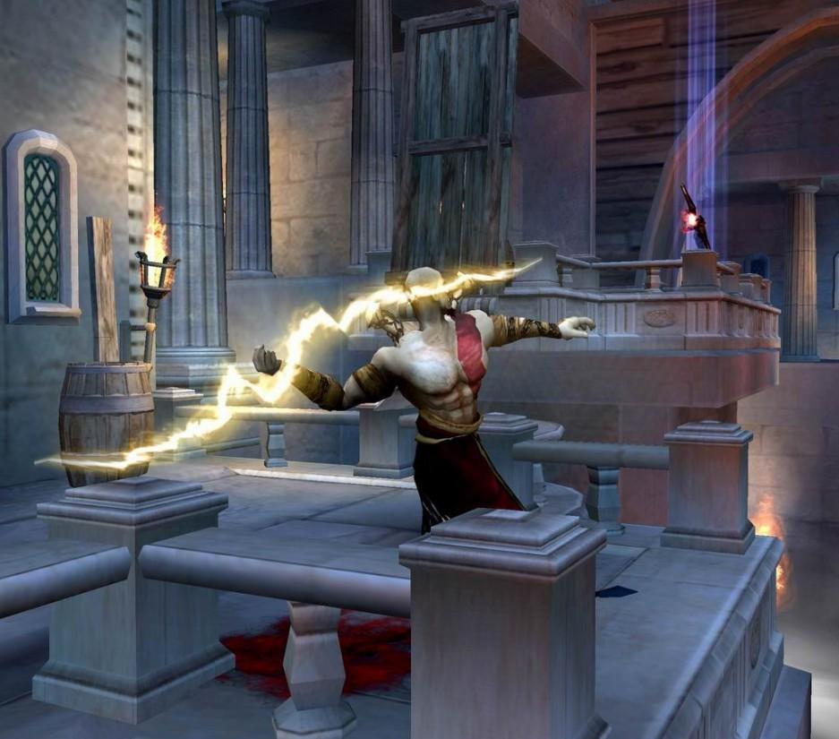 Un post para kratos taringa for Soluzione giardini superiori god war 3