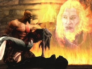 God of War 1 Reseña Personal. Kratos_ares_muerte