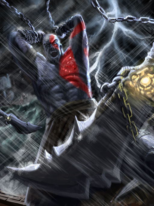 User:מלך האולימפוס - God of War Wiki - God of War 3, Kratos, Weapons,