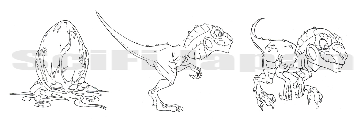 zilla monsters colouring pages