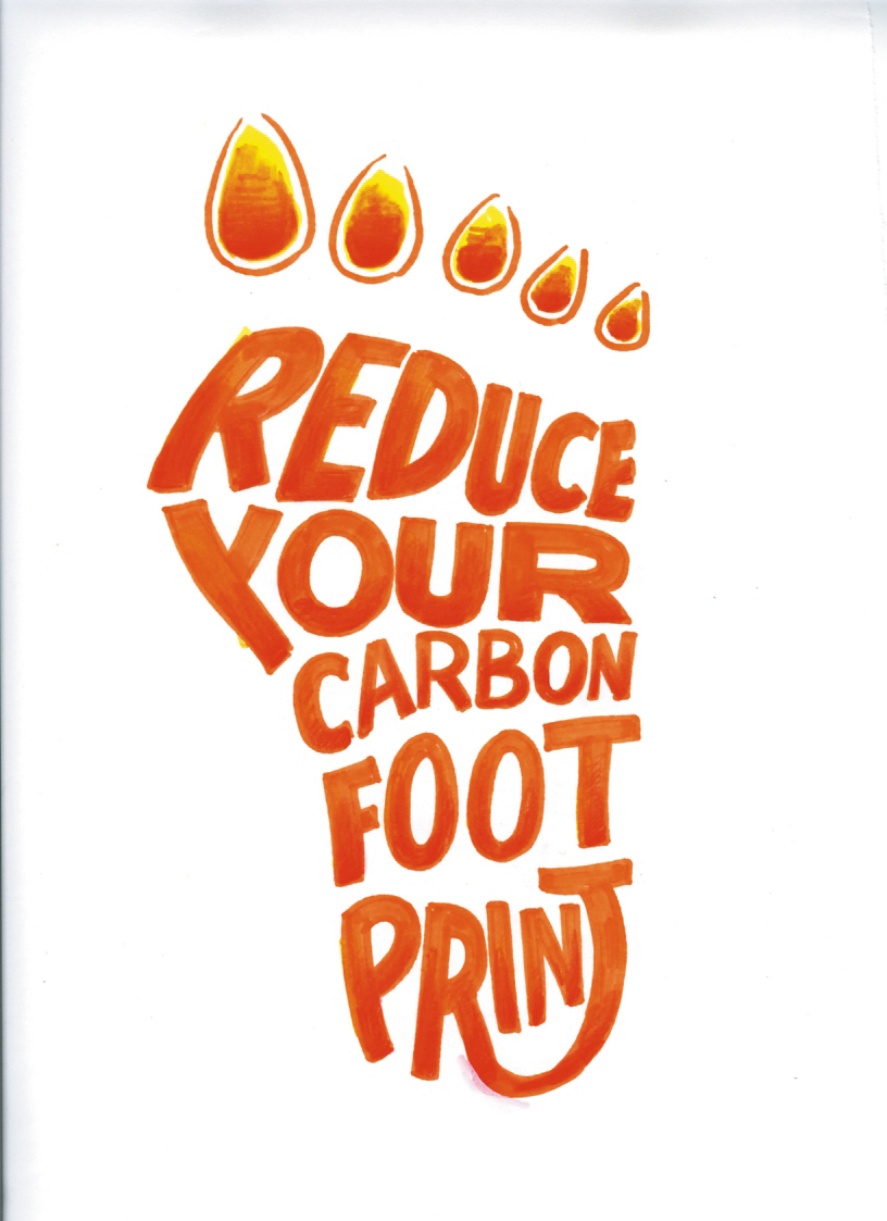 carbon footprints� but