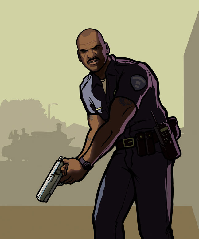 Grand Theft Auto: San ... Young Maylay