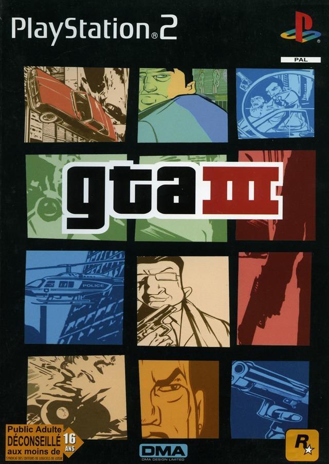 Image - Gta3 gta III gtaIII lyberty city PS2 pochette.jpg ...