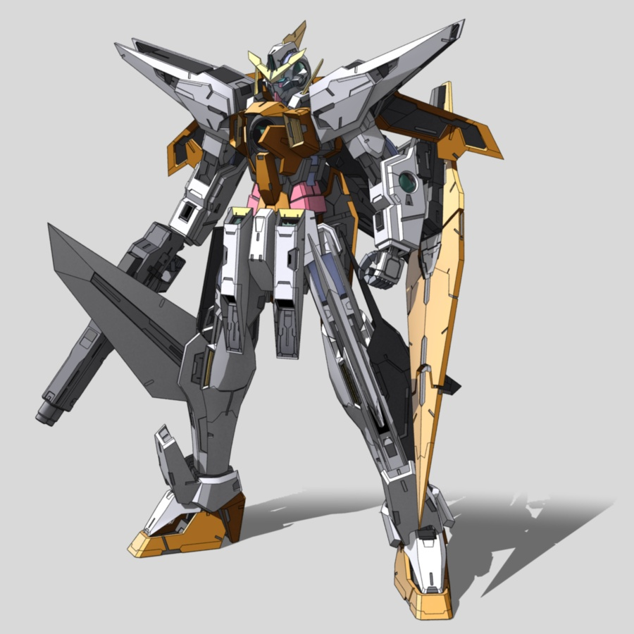 Image - GN-003 Gundam Kyrios.jpg - Gundam Wiki