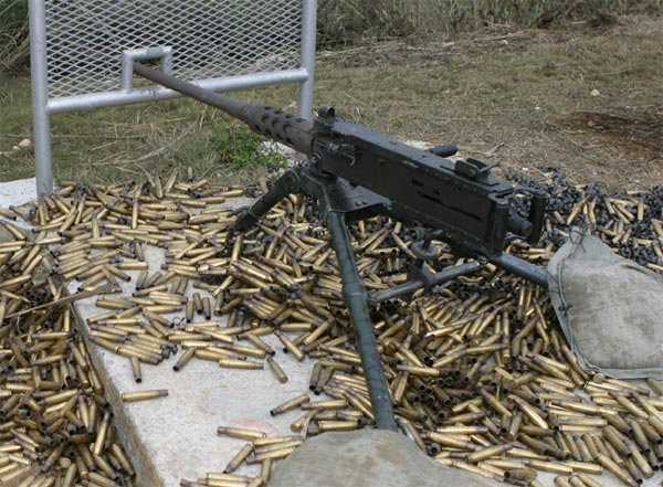 M2 Browning Machine Gun - Gunpedia