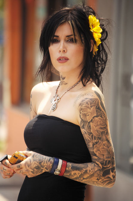 Kat Von D will be one of the