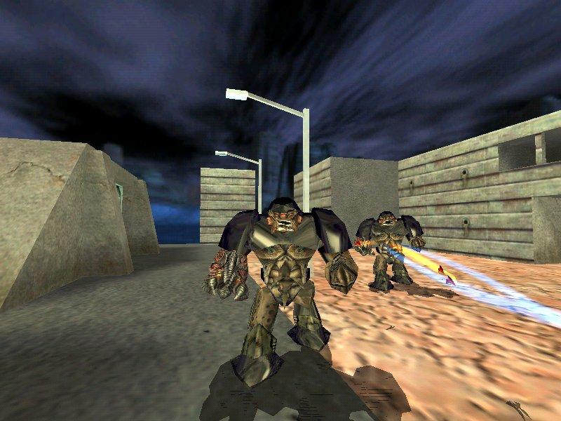 Image - Beta Alien Grunts firing.jpg - Half-Life Wiki