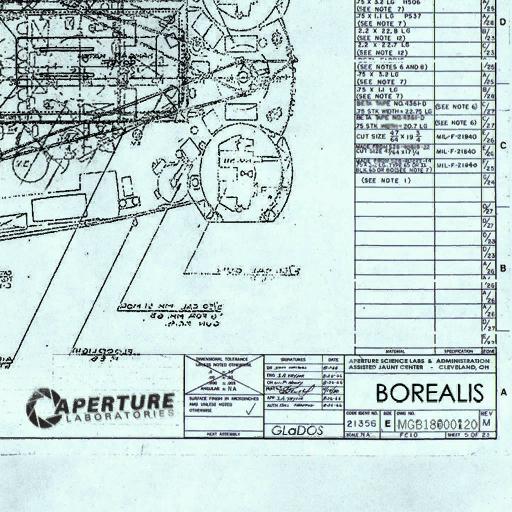 portal 2 logo png. Borealis plans 01.png