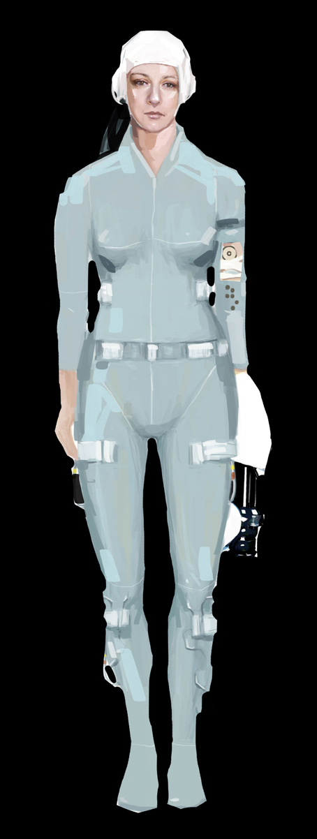 portal 2 chell redesign. working on Portal 2,