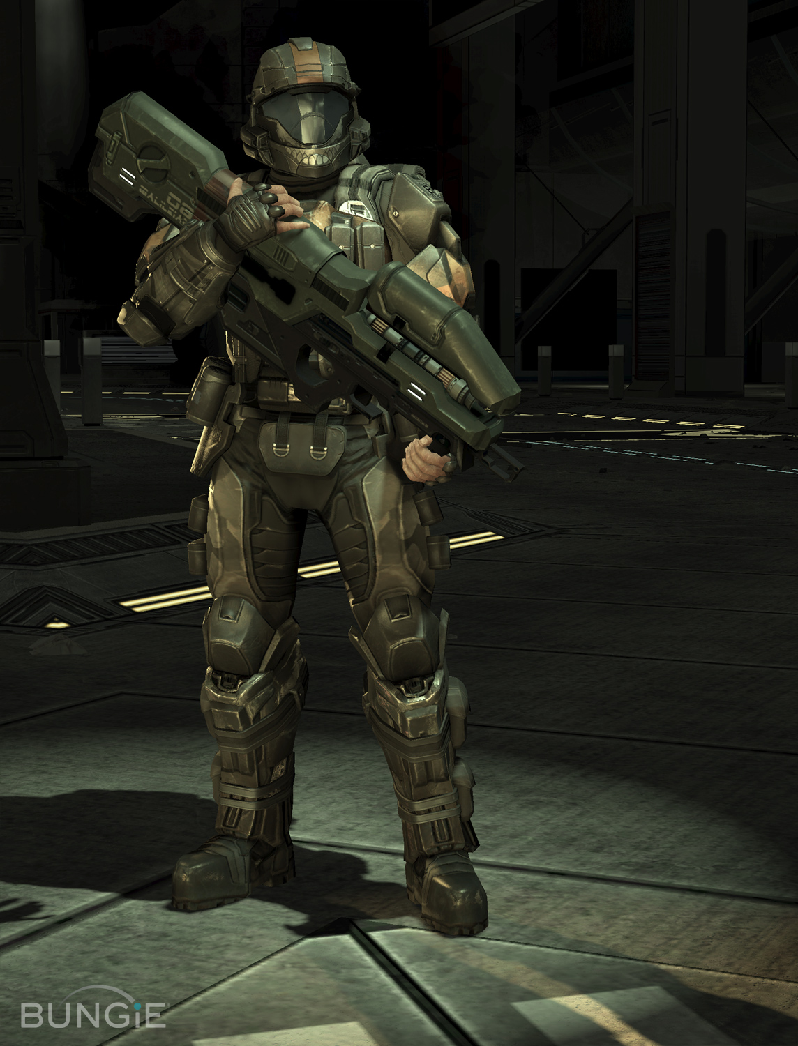 United nations space command unsc skidbladnir crew - Halo odst images ...