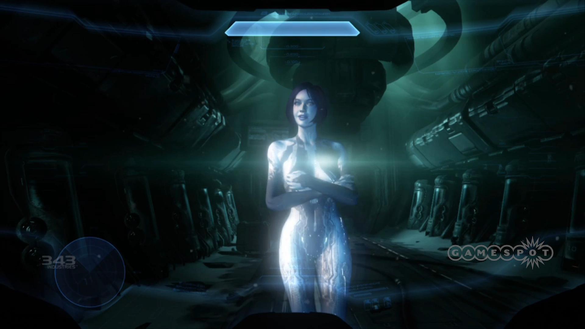 Cortana S Face From Halo 4 Looks Similar To Legacy Halo