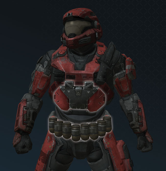 halo 3 armor. Powered Assault Armor