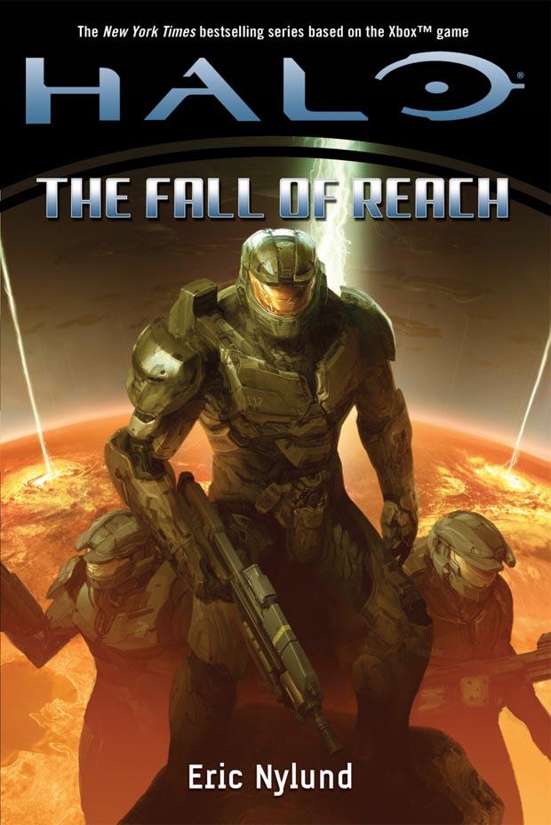 """Книга  """"Halo: The Fall of Reach """" описывает уничтожение Предела. и к Земле..."""