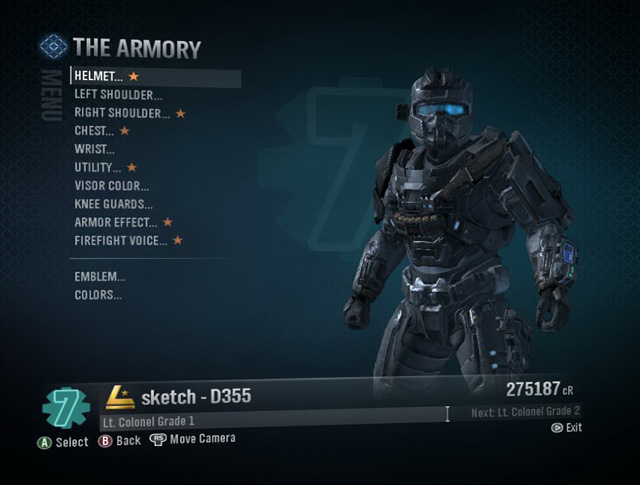 halo reach. The Armory (Halo: Reach