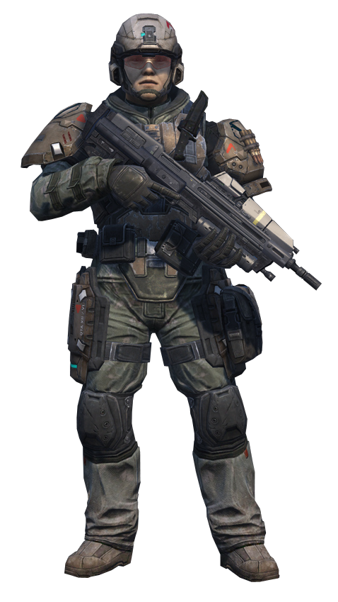 Blue vs Purple - Page 4 Halo_Reach_-_UNSC_Army_Infantryman_(Standing)