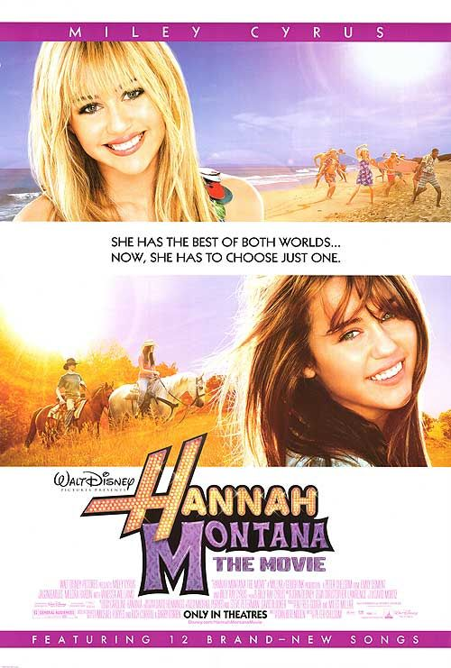 Hannah Monatanna the movie