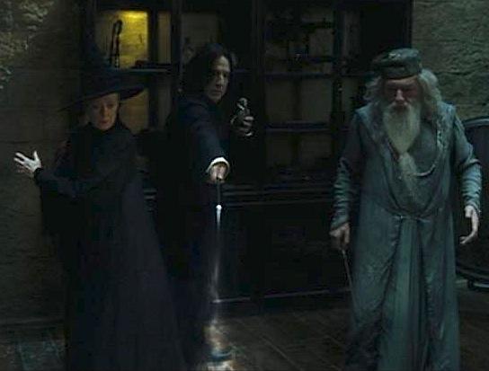 Professor Snape vs Professor Mcgonagall Mcgonagall Snape And