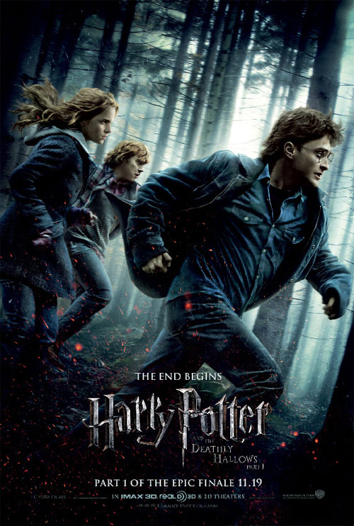 harry potter and the deathly hallows part 1 2010 movie poster. Harry Potter and the Deathly Hallows: Part 1