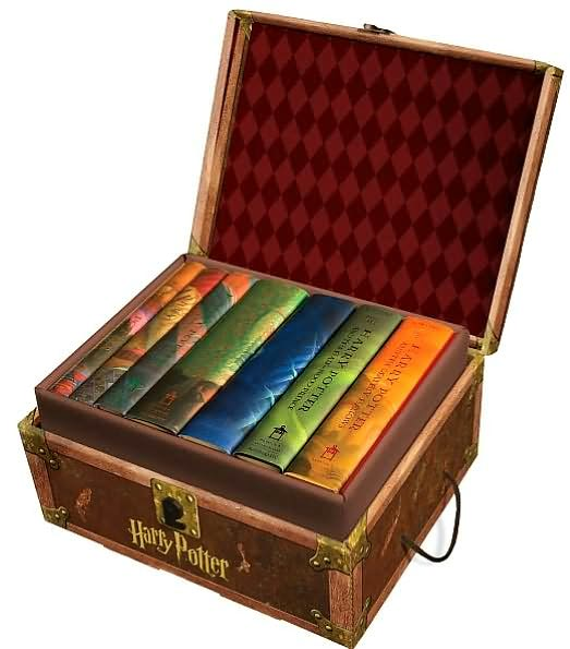 Hardcover Book With Pictures : Image hp us hardcover box set g harry potter wiki