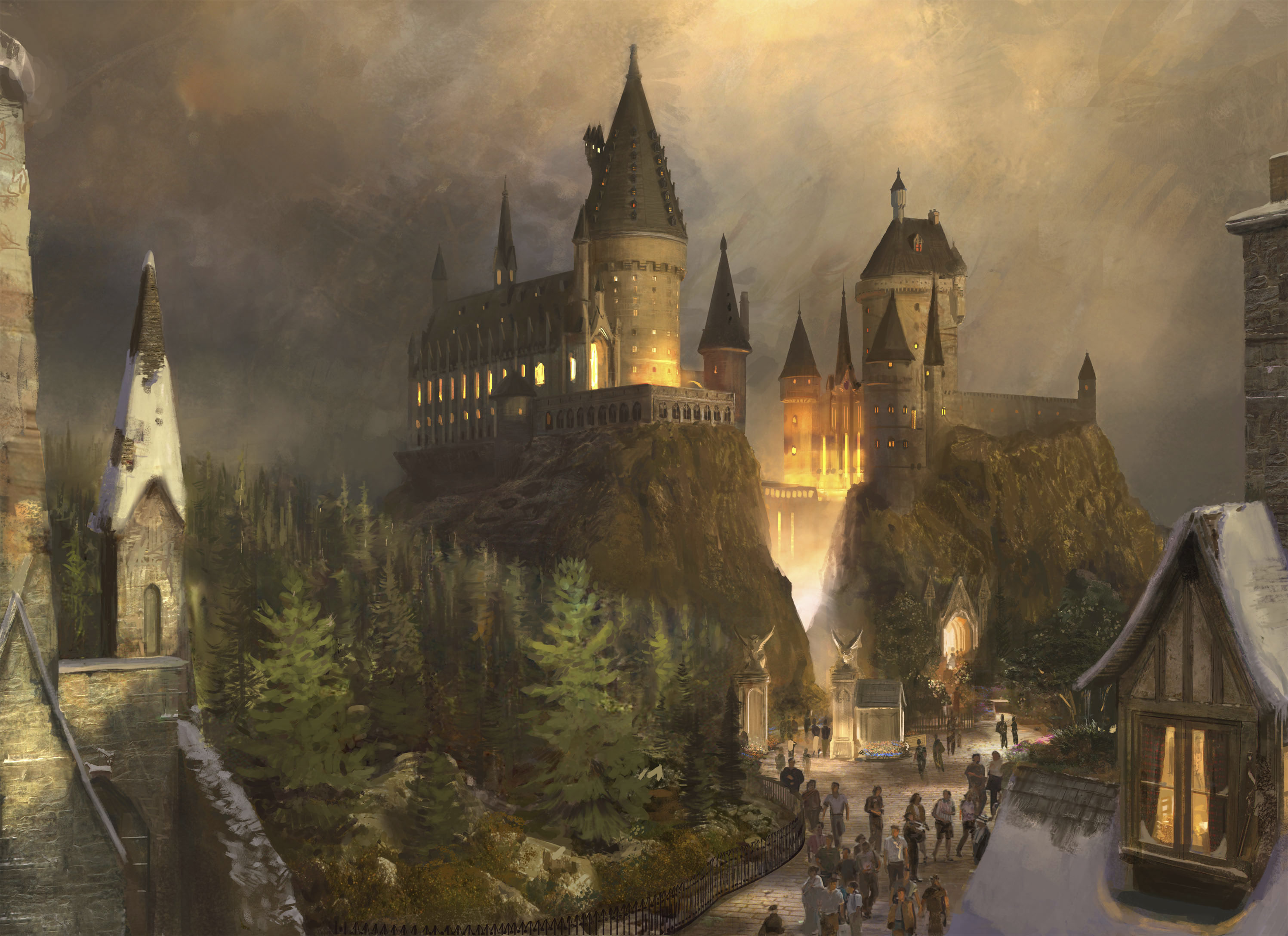 Image - Hogwarts 3.jpg - Harry Potter Wiki