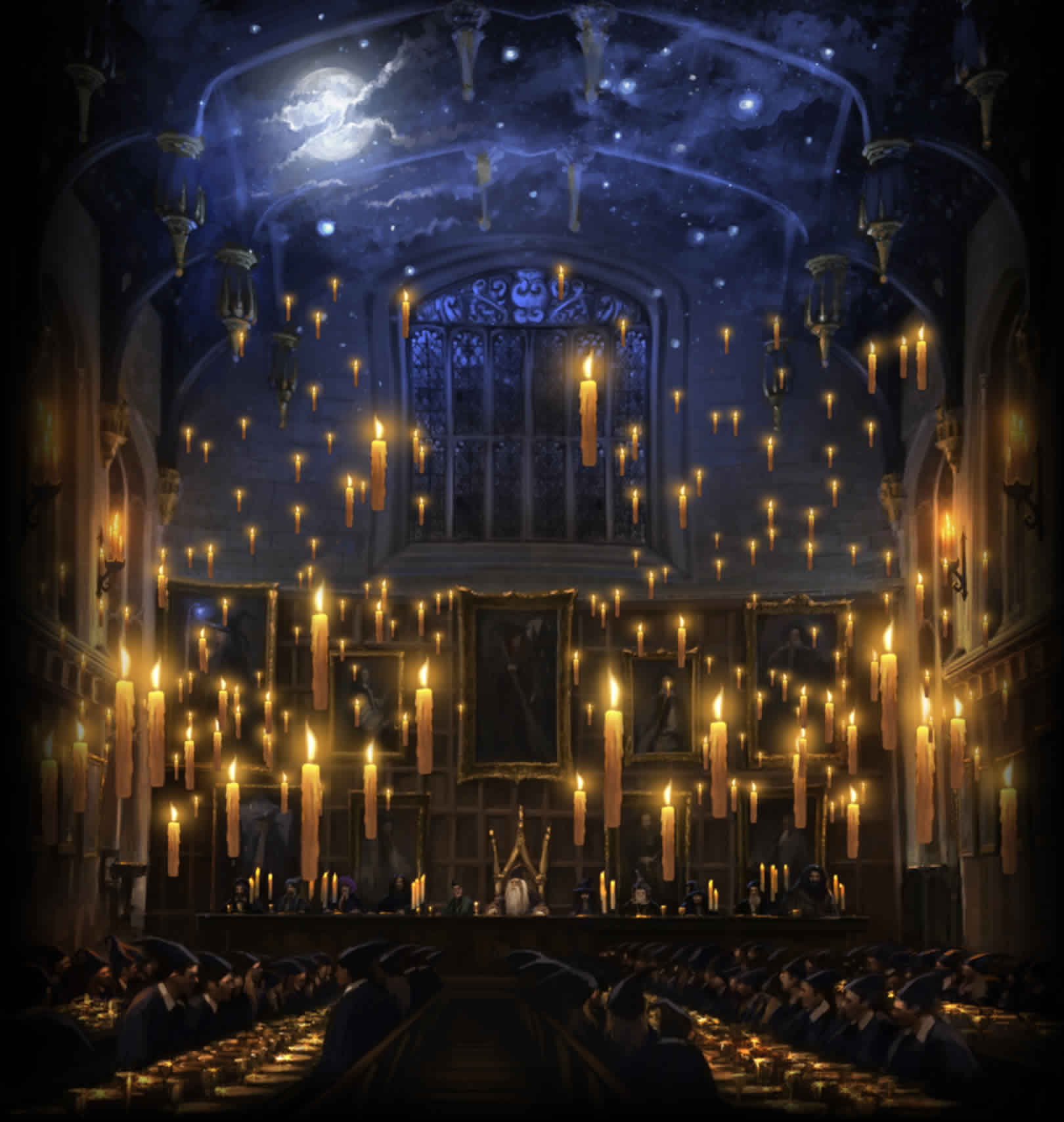 Image b1 harry potter wiki for Salle a manger harry potter