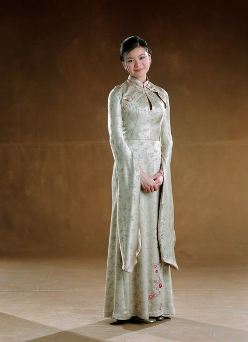 Cho chang s yule ball dress freakin harry potter pinterest
