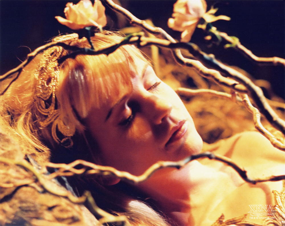 image gabrielle sleeping the ring jpg the xena