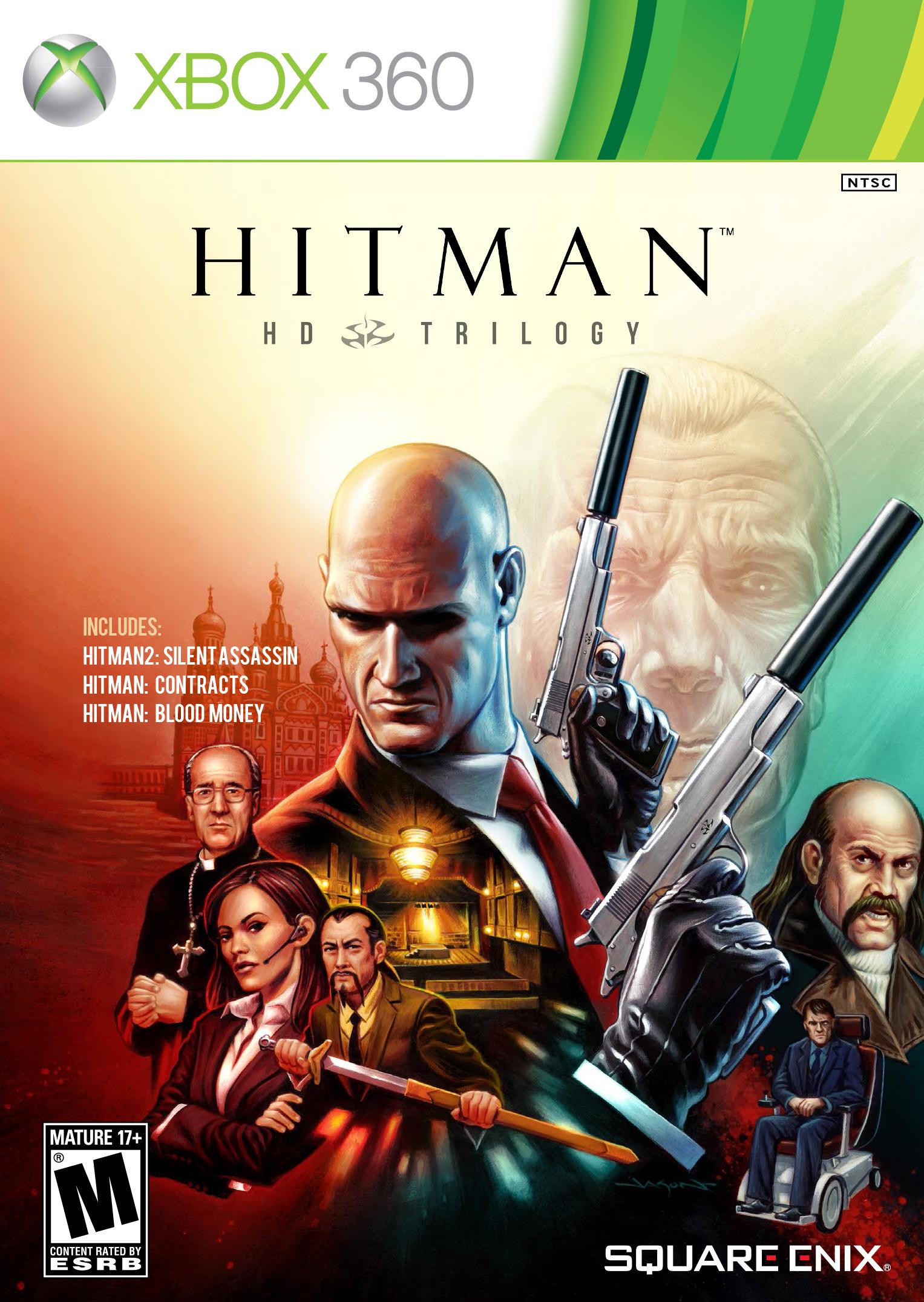 Hitman HD Trilogy (X-BOX 360) 2013
