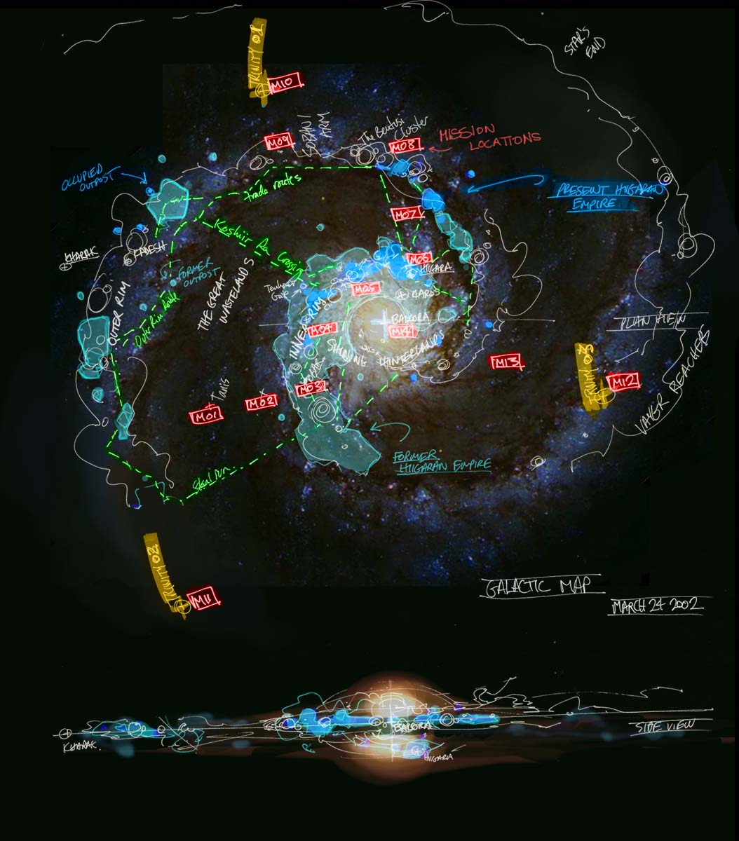 map of known galaxies - photo #20