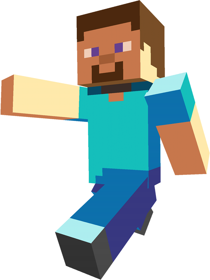 how to make a steve head in minecraft