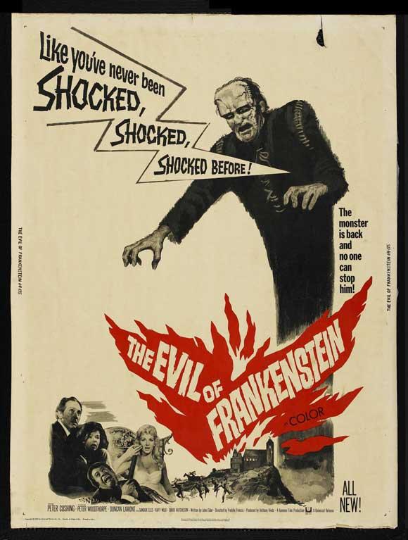 The Evil of Frankenstein movie