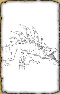 Image Gareon Pencil Sketch Jpg Huntik Wiki Secrets