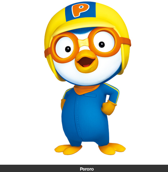 My girl looks like Chicken Little or Pororo? 1