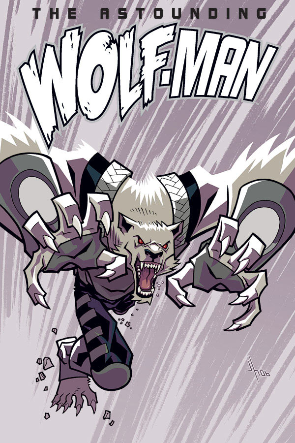 chisimoment  Anime Wolf Man