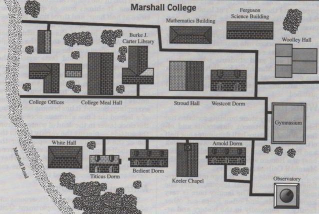 Marshall College - Description Campus