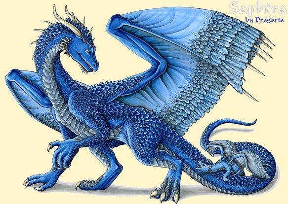 Eragon Fan Art Saphira...
