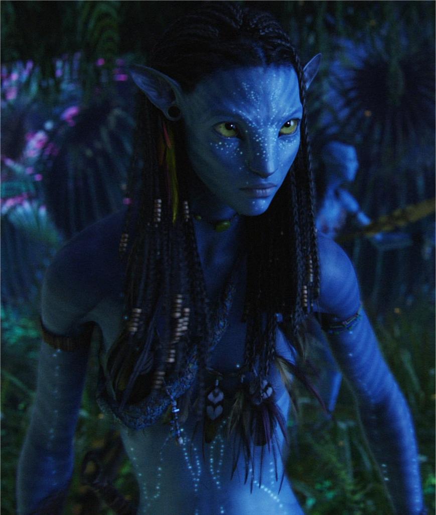 Neytiri in Avatar neytiri