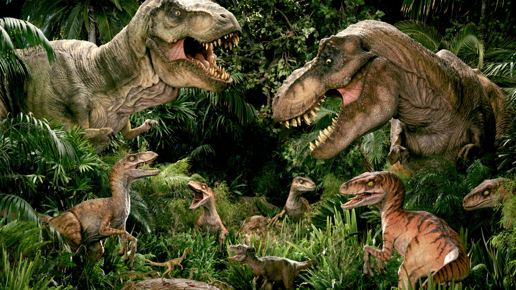 Jurassic Park dans Film JPTLWRexRaptorPromoArt