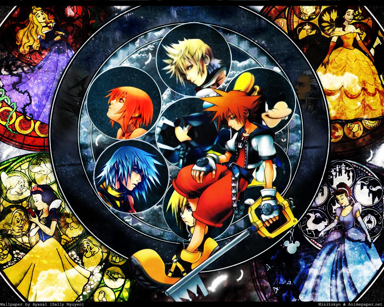 Kingdom Hearts I & II Kingdom-hearts-2