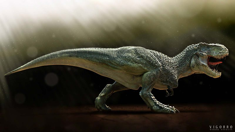 The Nations T Rex Revealed Extinct Monsters
