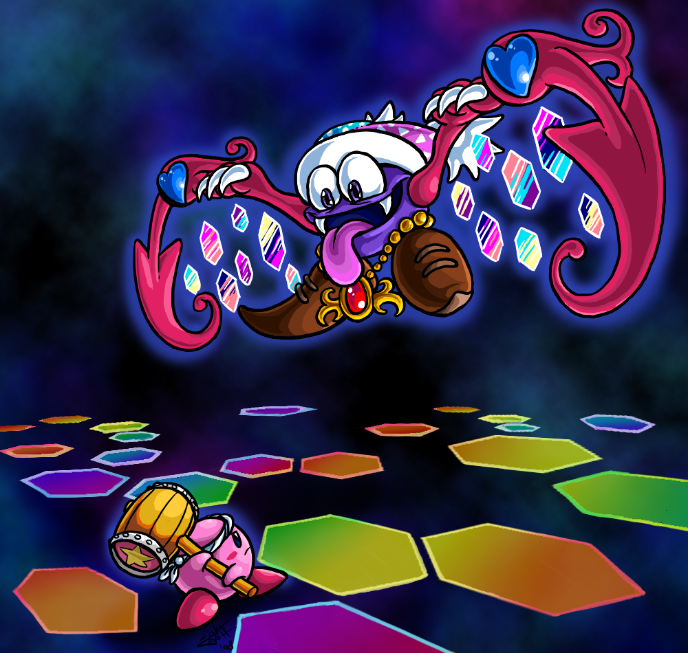 Personnages Kirby Battle_with_Marx_Soul_by_Quizzical_Squidopus