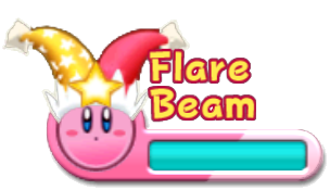 Image - KRtDL Flare Beam UI.png - Kirby Wiki - The Kirby ...