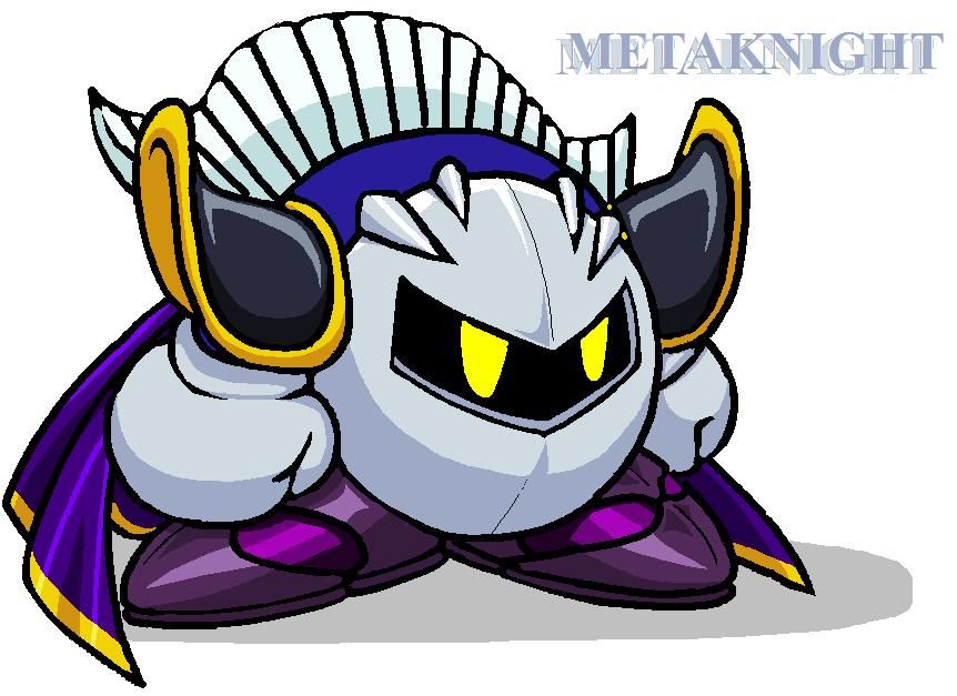 Imagen - SSBB Meta Knight.png - Kirbypedia - la Kirby Wiki