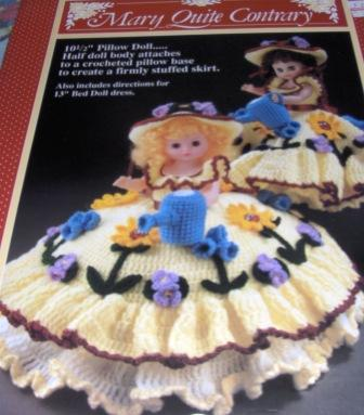 Crochet Pillow Doll Patterns - Td creations Crochet