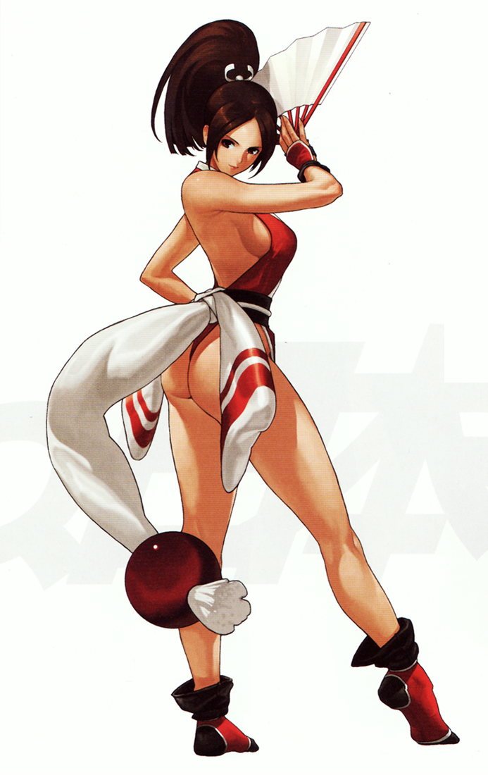hentai de the king of fighters mai: