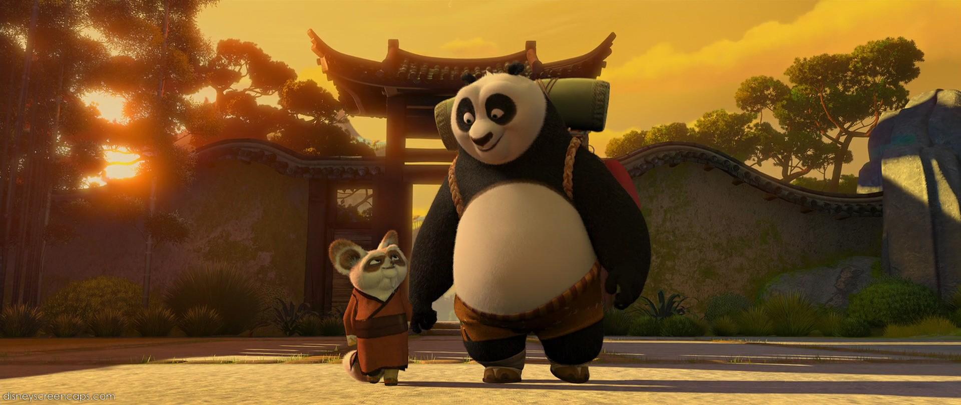Image - Po and Shifu b... Kung Fu Panda Po And Shifu