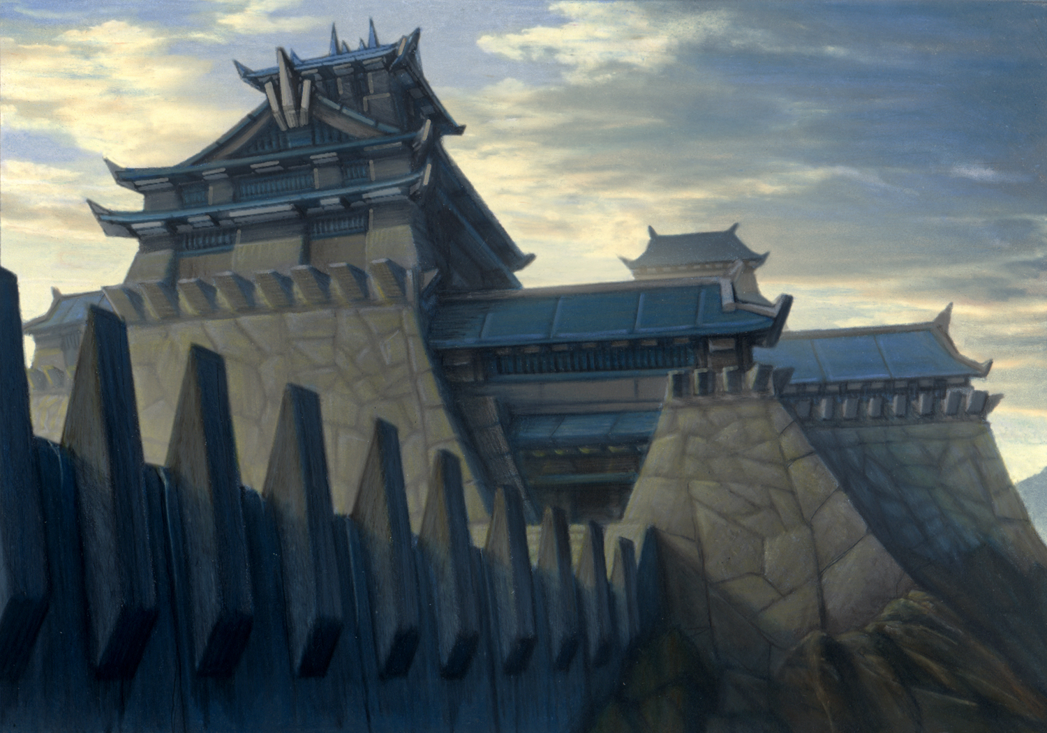 Kyuden Hida, seat of Crab power